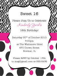 16th birthday party invitation wording cloveranddot com