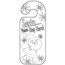 christmas door hangers u2013 free printables party delights