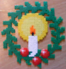 christmas decoration perler beads bead patterns and beads