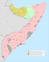 World War 1 Political Map by Somalia Civil War