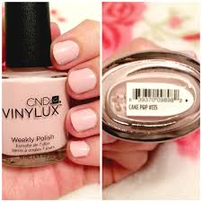 on my nails cnd vinylux weekly polish