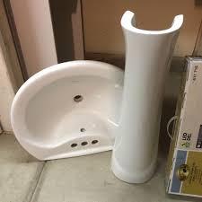 Pedestal Sink Sale Best New Glacier Bay Pedestal Sink 50 Obo For Sale In Murrieta