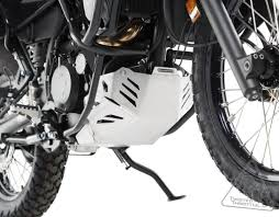 sw motech aluminum skid plate engine guard for kawasaki klr650 u002708