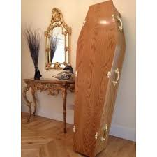 cost of caskets traditional oak coffin low cost funeralcare handmade by skilled