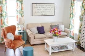 Armchair Sofa Design Ideas Orange Armchairs For Small Spaces With Beige Sofa Decor Nytexas