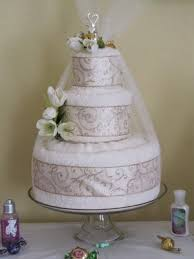 towel cakes unique design towel wedding cake superb bridal shower luxury our