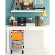 Small Desktop Shelving Smoke Like It Small Desktop Station The Container Store