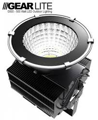 Outdoor Led Flood Lights by Gearlite G500 500 Watt Outdoor Led Flood Light High Bay Lighting