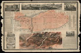 Chicago Brewery Map by Tensions And Torches After The Great Chicago Fire Wbez
