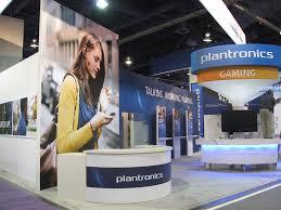 Registration Desk Design Plantronics Ces 2012 Booth Fineline Graphics U0026 Design Inc