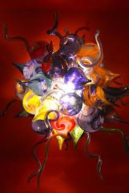 Art Chandelier Trio U0027s Restaurant James Hayes Art Glass Trio U0027s Restaurant