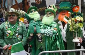 new york city s st s day parade attracts protesters