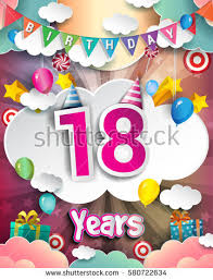 birthday card 18 stock images royalty free images u0026 vectors