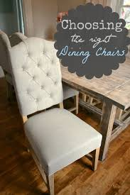 Tufted Dining Chair Selecting The Right Dining Chairs Nest Of Bliss
