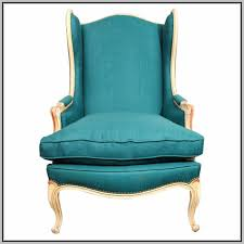 Wingback Chairs Design Ideas Home Interior Contemporary Turquoise Wing Back Chair With Brass