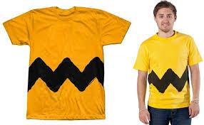 Charlie Brown Costume 5 Truly Last Minute Halloween Costumes Halloween Ideas