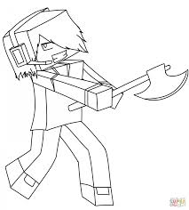 coloring download minecraft skin coloring pages minecraft skin