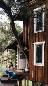 Real Treehouse Romantic Rustic Tree House Miracle Valley Ca 2 Hipcamper