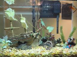 mermaid fish tank decorations