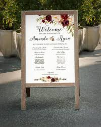 wedding program sign hey i found this really awesome etsy listing at https www etsy