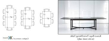 Person Dining Room Table Dimensions - Dining table dimensions for 8