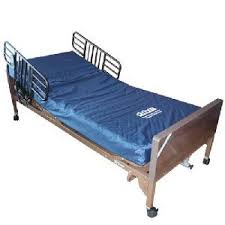 Hospital Bed Rails Pre Owned Fully Electric Hospital Bed With Mattress U0026 Safety Rails