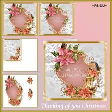 christmas frames 2 cu card designer resources digital fantasy