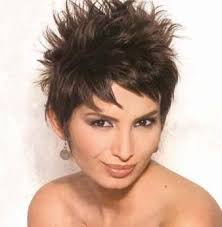short hairstyles on ordinary women pictures of spiked haircuts for women short spiky hairstyle
