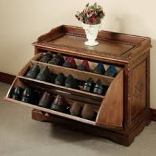 bench shoe rack foter