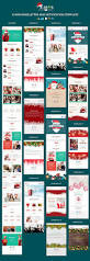 x mas responsive newsletter and notification template with