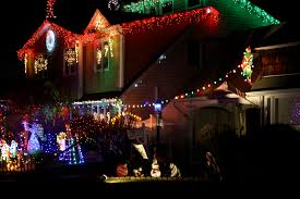Christmas Lights Ditto Long Island Neighbors U0027copy U0027 Elaborate Light Display Levittown