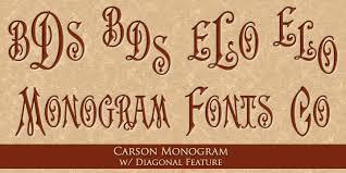 Initial Monogram Fonts Monogram Fonts Co Myfonts