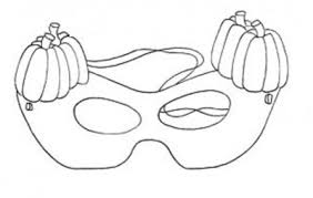 coloring pages printable halloween masks kids coloring pages
