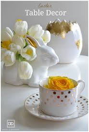 Easter Table Decor Easter Table Decor Floral Vase Ideas Design By Occasion