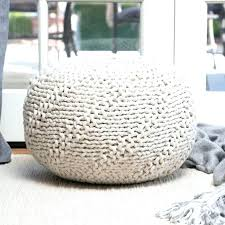 Wicker Outdoor Ottoman Lovely Outdoor Ottoman Pouf Outdoor Pouf Highland Indoor Outdoor