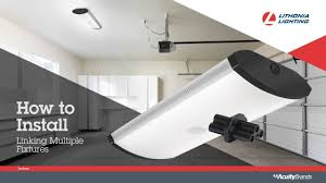 led garage ceiling lights sgll led garage light installation video from lithonia lighting
