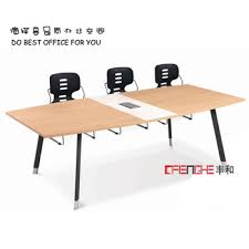 Curved Design Office Folding Conference Table Modular Meeting