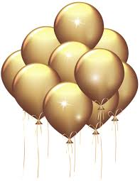 gold balloons gold balloons transparent clip image gallery yopriceville
