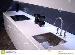 Kitchen Sink Modern Modern Kitchen Sink Stock Image Image Of Lunch Room 3813825