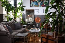 Room With Plants A Baltimore Loft Filled Floor To Ceiling With Plants Front Main