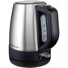 hamilton beach 1 l stainless steel electric kettle model 40998