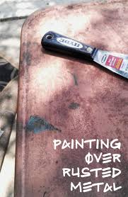 Painting Metal Patio Furniture - best 25 painting metal furniture ideas on pinterest paint metal