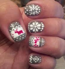 diy christmas nail art u2013 the kissters