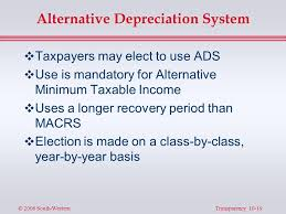 Ads Depreciation Table Chapter 10 Cost Recovery On Property Depreciation Depletion And