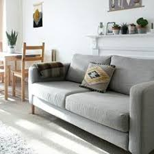 Ikea Karlstad Sofa by Ikea Karlstad Couch With Updated Legs This Is The Couch That Will