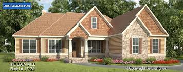 craftsman style ranch home plans edenville house plan house plans by garrell associates inc