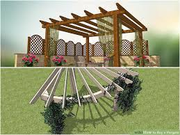 Do I Need A Permit To Build A Pergola by How To Buy A Pergola With Pictures Wikihow