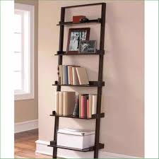espresso ladder bookshelf amiphi info