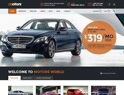 cool wrapped cars 15 best car dealer wordpress themes 2017 athemes