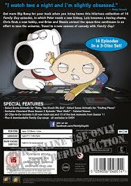 family season 11 dvd seth macfarlane alex